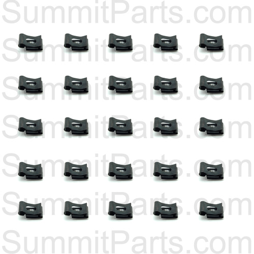 10 PACK FRONT PANEL MOUNTING CLIP FOR WASCOMAT W74,W124,W PART# 785701